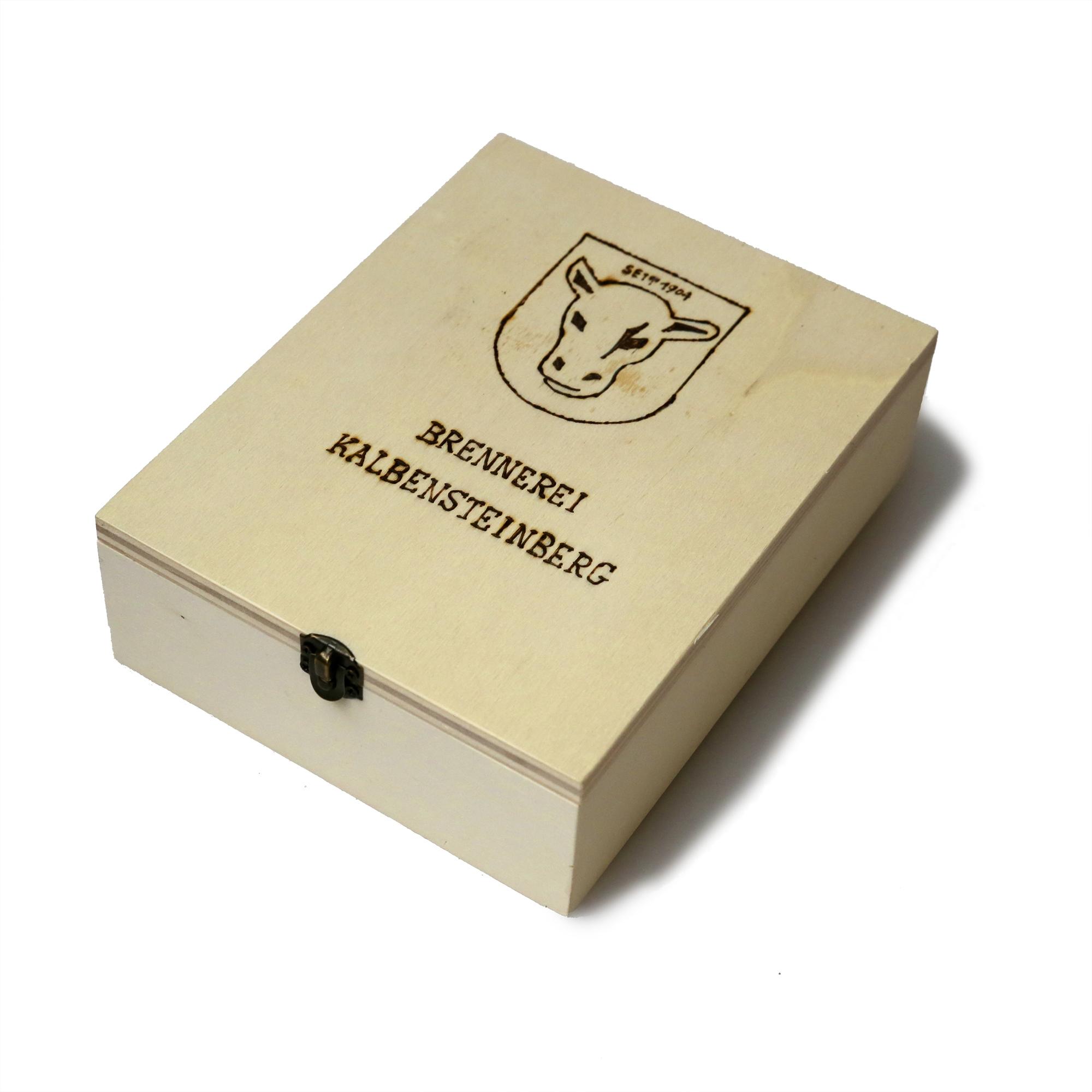Original Kalber Kiste mini geschlossen